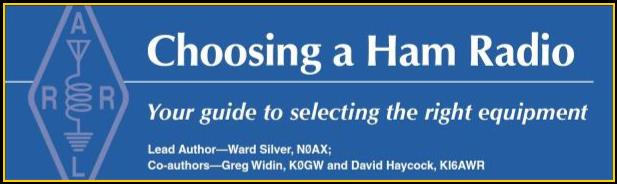 Choosing a Ham Radio can be frustrating, this ARRL guide makes it easier.